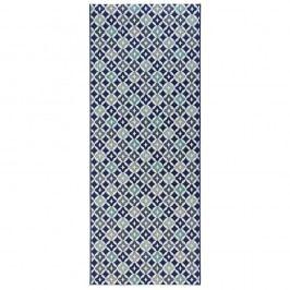 Modrý kuchyňský běhoun Zala Living Reflect, 80x200cm