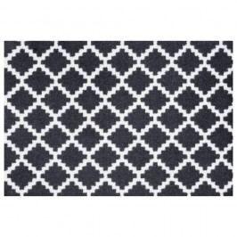 Černobíá rohožka Hanse Home Elegance, 50x70cm
