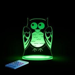 Dětské LED noční světýlko Aloka Owl
