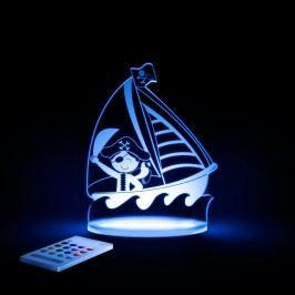 Dětské LED noční světýlko Aloka Pirate