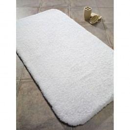 Bílá bavlněná koupelnová předložka Confetti Bathmats Organic, 60 x 80 cm