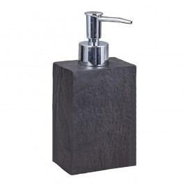 Černý dávkovač mýdla Tomasucci Slate