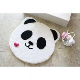 Koupelnová předložka Alessia Panda Shape, Ø 90 cm