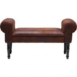 Hnědá lavice Kare Design Vintage