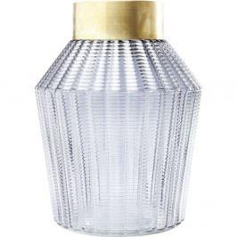 Světle šedá váza Kare Design Barfly Grey, 30cm