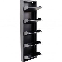 Antracitově šedý botník Kare Design Caruso