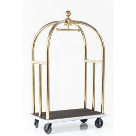 Stojan na oblečení s konstrukcí ve zlaté barvě Kare Design VIP Vegas