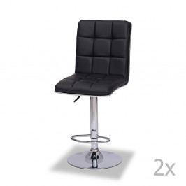 Sada 2 barových židlí Furnhouse Liva