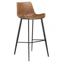 Hnědá barová židle DAN–FORM Hype