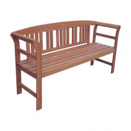 Zahradní lavice z eukalyptového dřeva ADDU Harland