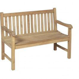 Zahradní dvoumístná lavice z teakového dřeva ADDU Solo