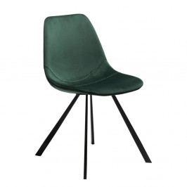 Tmavě zelená jídelní židle DAN-FORM Denmark Pitch