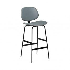 Šedá barová židle DAN-FORM Denmark Prime