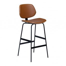Hnědá barová židle DAN-FORM Denmark Prime