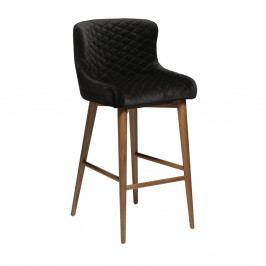 Tmavě modrá barová židle DAN-FORM Denmark Vetro