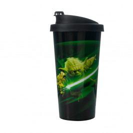Cestovní kelímek LEGO® Star Wars Yoda, 500 ml