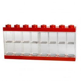 Červená sběratelská skříňka na 16 minifigurek LEGO®