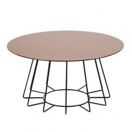 Konferenční stolek v bronzové barvě Actona Casia, výška 40 cm