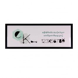 Obraz sømcasa CK, 80 x 30 cm