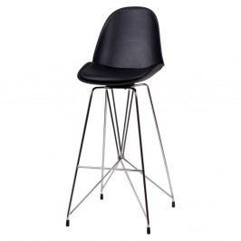 Černá barová židle sømcasa Brett
