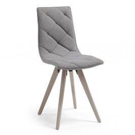 Šedá jídelní židle La Forma Tuk