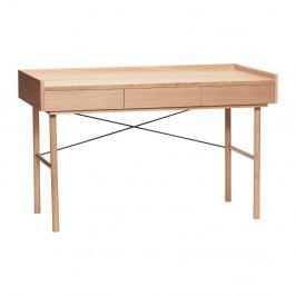 Pracovní stůl se 3 zásuvkami Hübsch Jarl