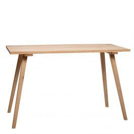 Jídelní stůl z dubového dřeva Hübsch Keld, 150x65cm
