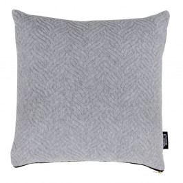 Světle šedý polštářek s příměsí bavlny House Nordic Ferrel, 45x45cm