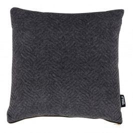 Tmavě šedý polštářek s příměsí bavlny House Nordic Ferrel, 45x45cm