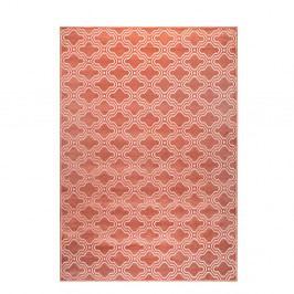 Růžový koberec White Label Feike, 160x230cm