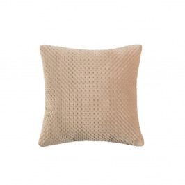 Béžový polštář White Label Sterre, 45x45cm