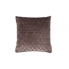 Tmavě šedý polštář Dutchbone Dean, 45x45cm