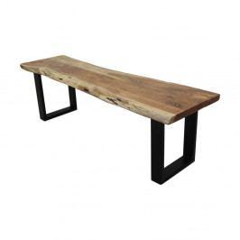 Lavice ze dřeva a kovu HSM collection SoHo, délka 130 cm
