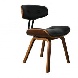 Černá židle Dutchbone Wallnut