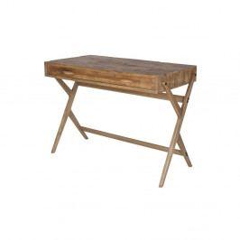 Pracovní stůl z borovicového dřeva De Eekhoorn Desk