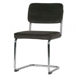 Sada 2 tmavě hnědých židlí De Eekhoorn Lien