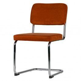 Sada 2 červených židlí WOOOD Lien
