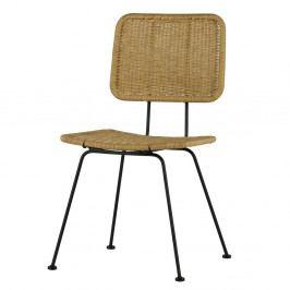 Sada 2 přírodních židlí WOOOD Hilde