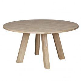 Jídelní stůl z dubového dřeva WOOOD Rhonda, Ø150cm