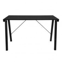 Černý pracovní stůl Actona Typhoon