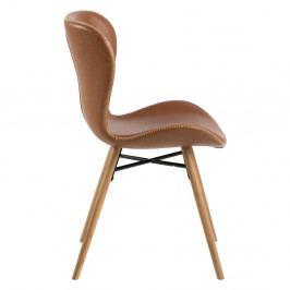 Sada 2 koženkových židlí Actona Batilda