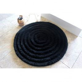 Koupelnová předložka Alessia Round Black, Ø 90 cm