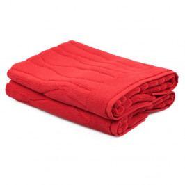 Sada 2 červených ručníků Beverly Hills Polo Club Gartex, 50x75cm