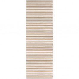 Hnědo-bílý koberec vhodný do exteriéru Narma Hullo, 70x100cm