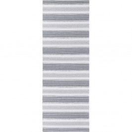 Šedý běhoun vhodný do exteriéru Narma Runo, 70x250cm