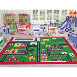 Dětský koberec Town,133x190cm