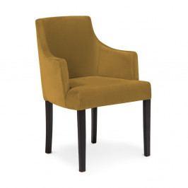 Sada 2 hořčičně hnědých židlí Vivonita Reese