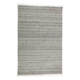 Šedý vlněný koberec BePureHome Fields, 240x170cm