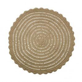 Kulatý jutový koberec BePureHome Corn, ⌀ 150 cm