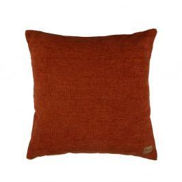 Červený bavlněný polštář BePureHome Craddle, 45x45cm
